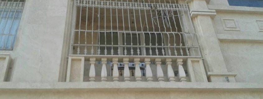حفاظ در و پنجره اهنی