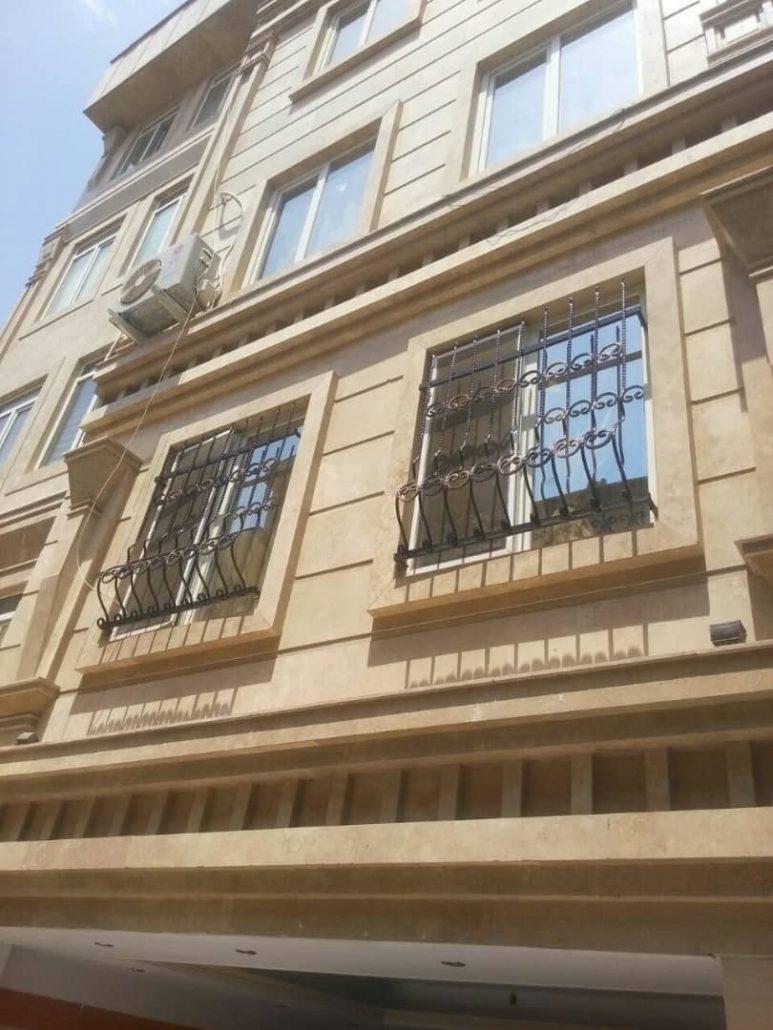 حفاظ پنجره فرفورژه