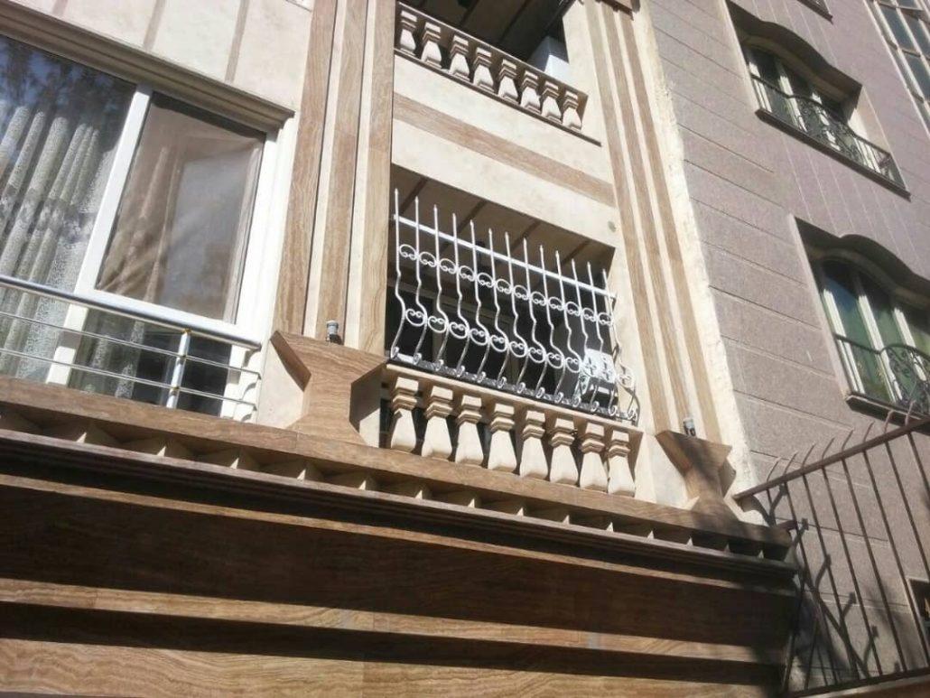 ساخت حفاظ پنجره فرفورژه