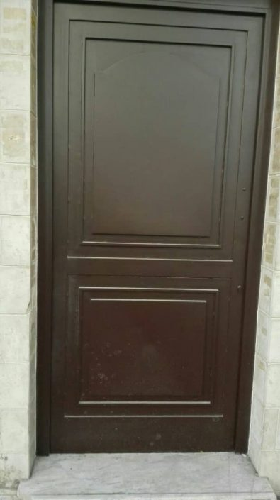 طراحی درب فرفورژه